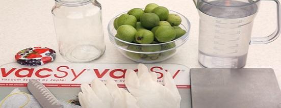 тинктура от зелени орехчета